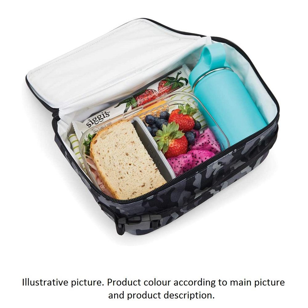 Liten kylväska Packit Freezeable Lunch Bag öppen med mat