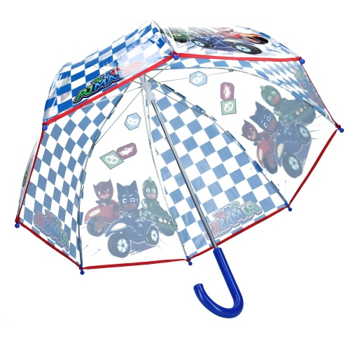 Paraply barn genomskinligt PJ Masks