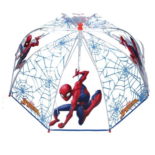 Paraply barn genomskinligt Spiderman