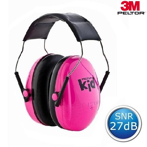 Hörselkåpor 3M Peltor Kid Rosa