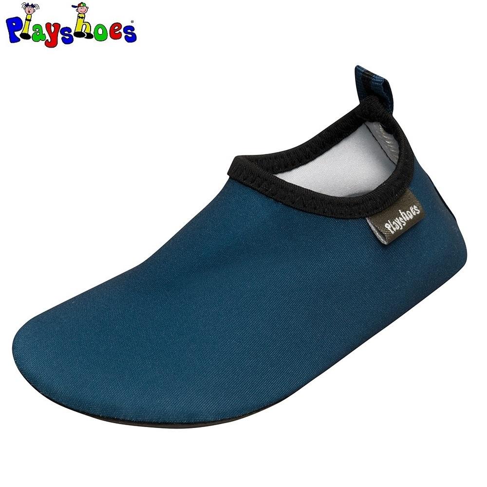 UV-badsko barn Playshoes Mörkblå