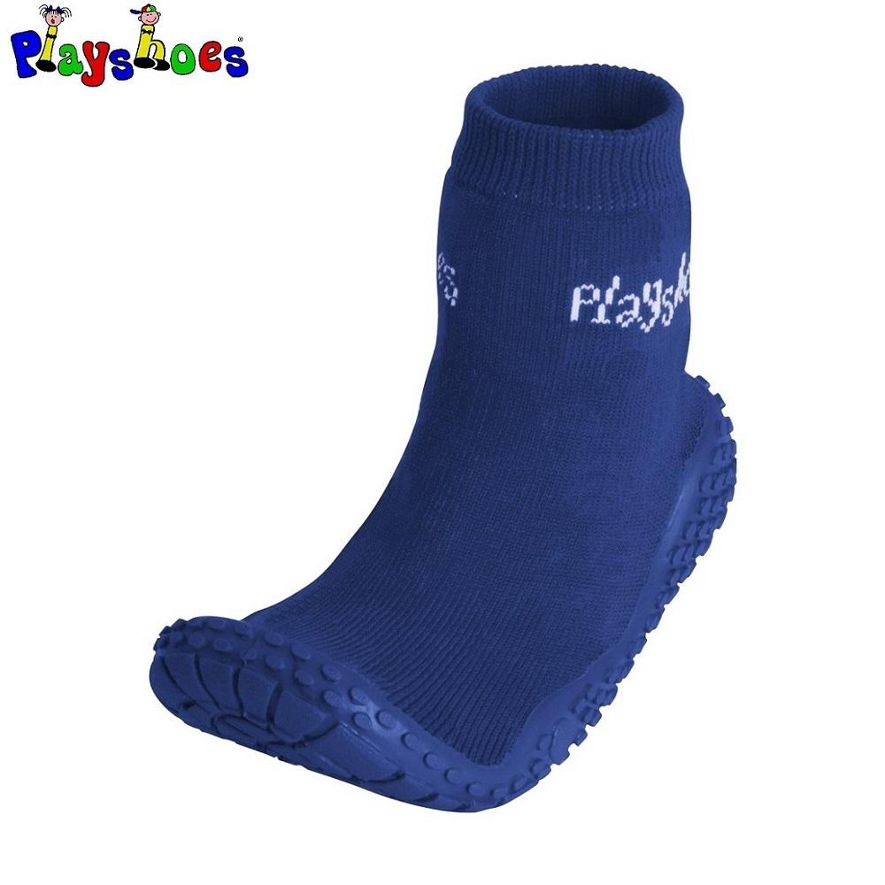 Badsockor barn Playshoes Aquasocks Mörkblå