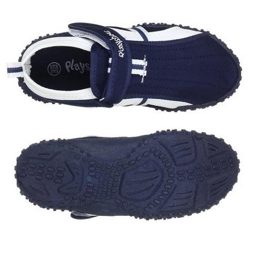 Badskor barn Playshoes blå