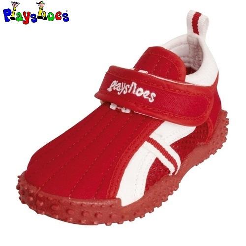 Badskor barn Playshoes Röda