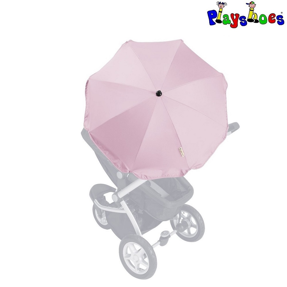 Barnvagnsparasoll Playshoes Rosa