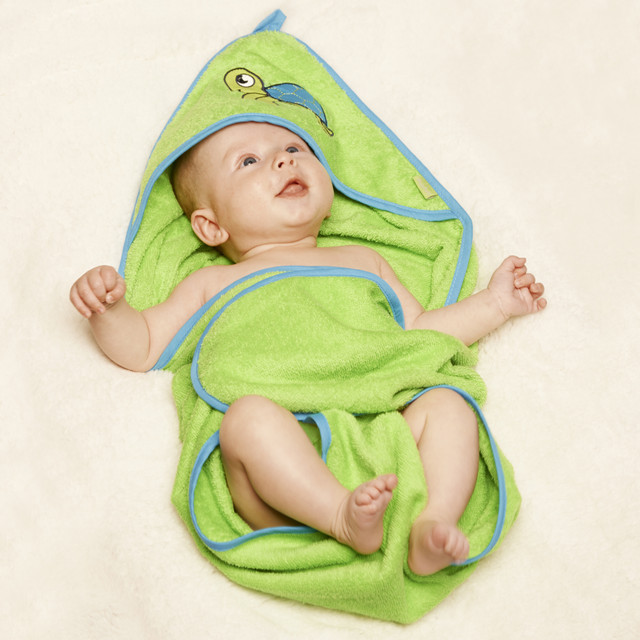 Hooded Towel - Turtle