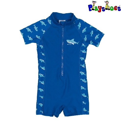 UV-dräkt Playshoes Blue Shark