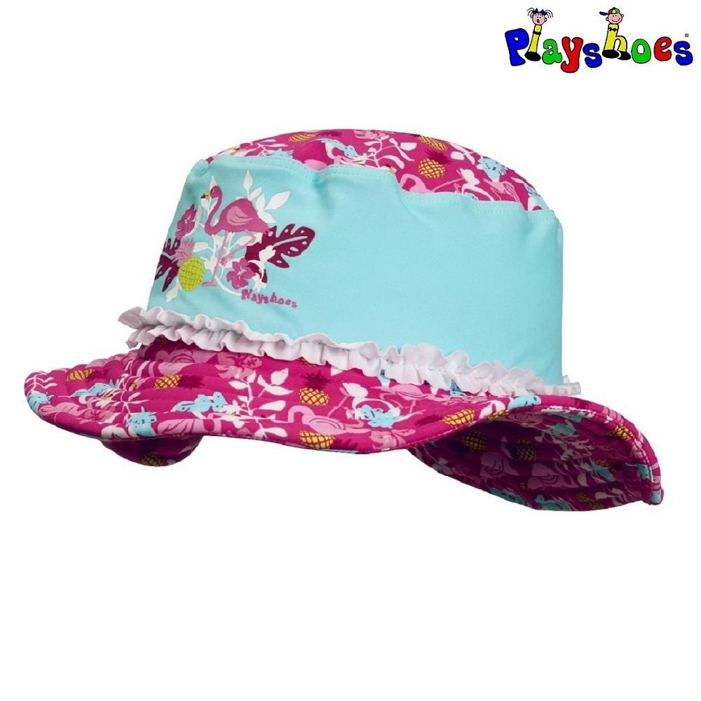 Solhatt barn Playshoes Flamingo