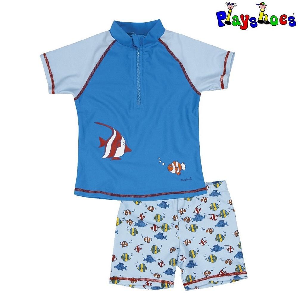 UV-tröja och UV-byxor Playshoes Fiskar