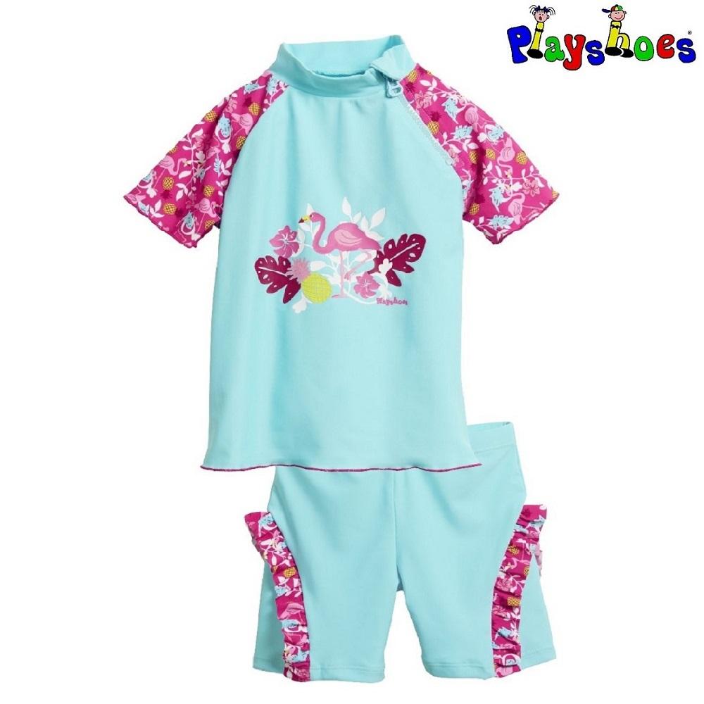UV-tröja och UV-byxor Playshoes Flamingo