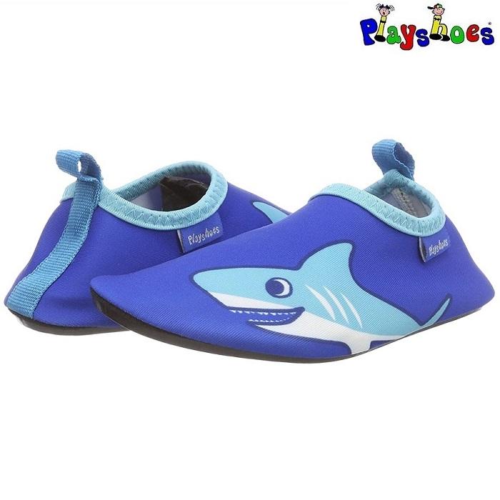 Badskor barn Playshoes Shark