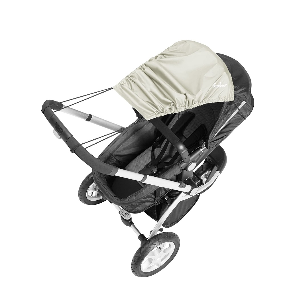 Solskydd barnvagn Playshoes Natur