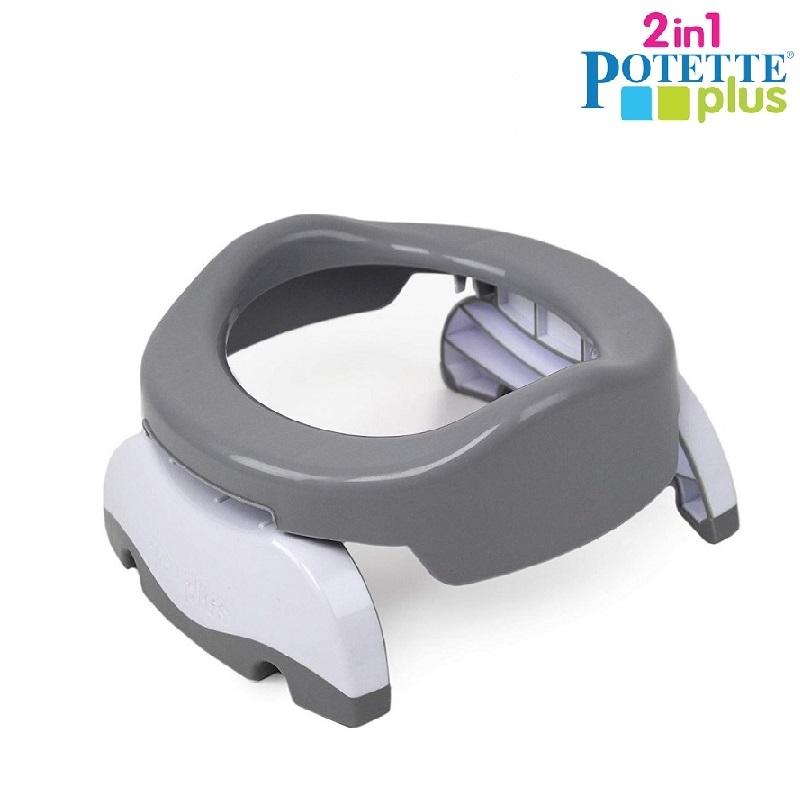 Resepotta Potette Plus Grå