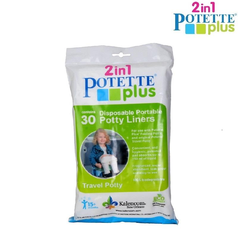 Potette Plus engångspåsar 30-pack