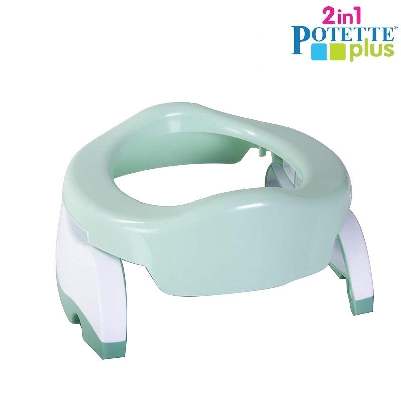 Resepotta och toasits för barn Potette Plus mint