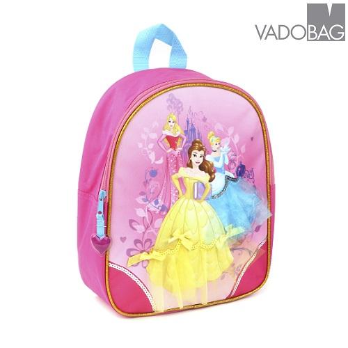 Barnryggsäck Disney princessor rosa