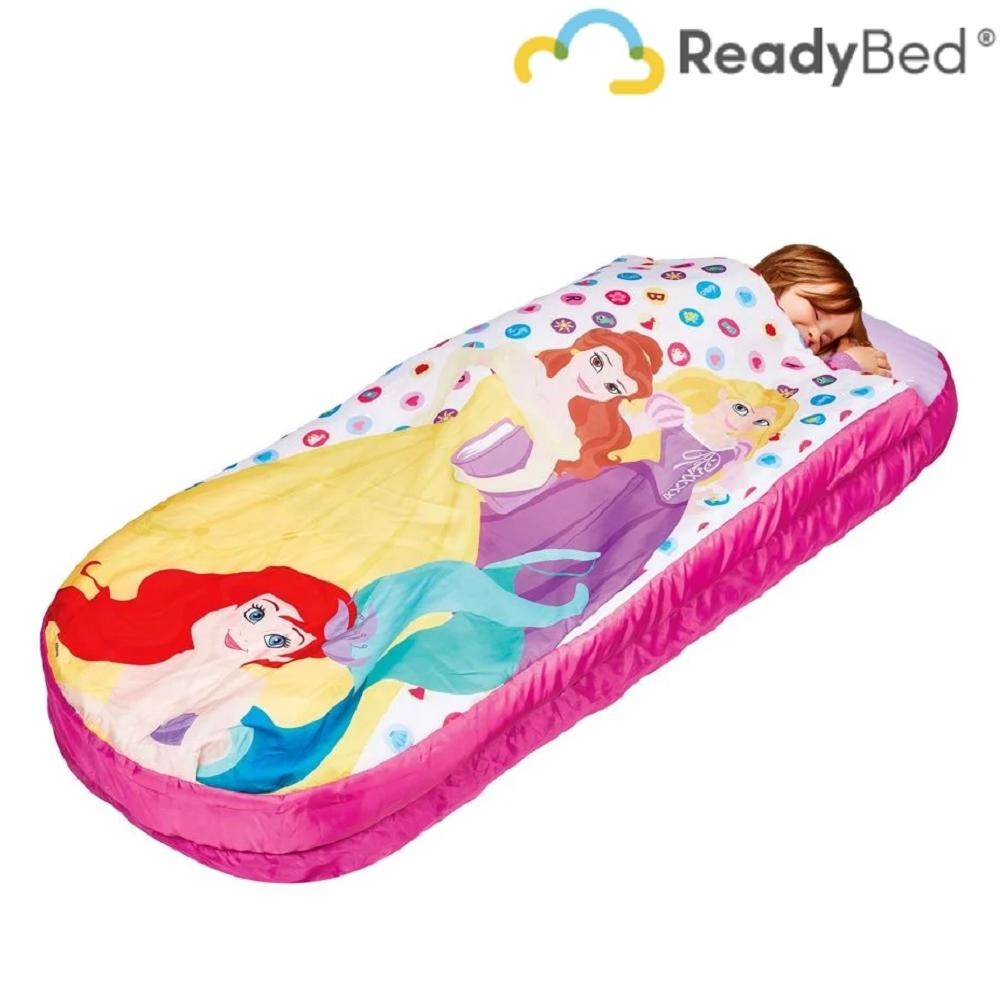 Uppblåsbar resesäng Readybed Junior Disney Princesses resemadrass