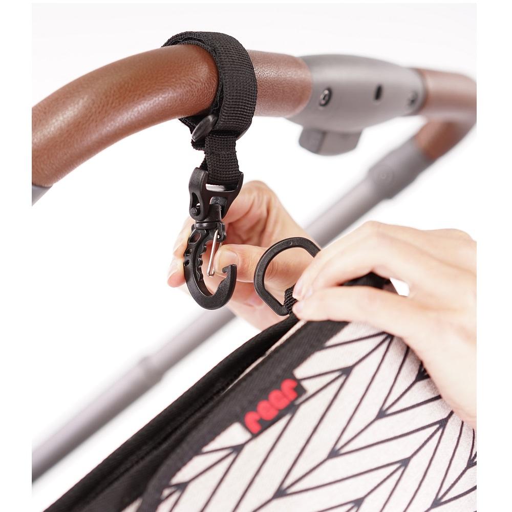 Liten skötväska Reer Clip Go Vario Stroller