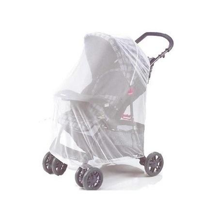 Myggnät Reer Universalt till barnvagn och barnsäng Vit