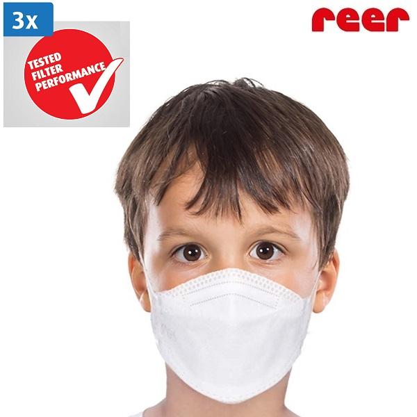 Munskydd barn Reer 3-pack