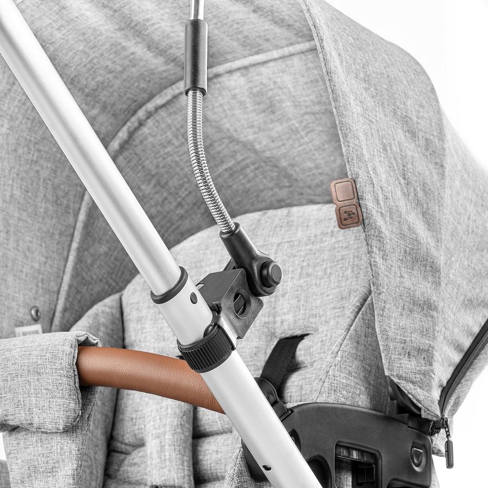 Reer barnvagnsparasoll - ShineSafe grå