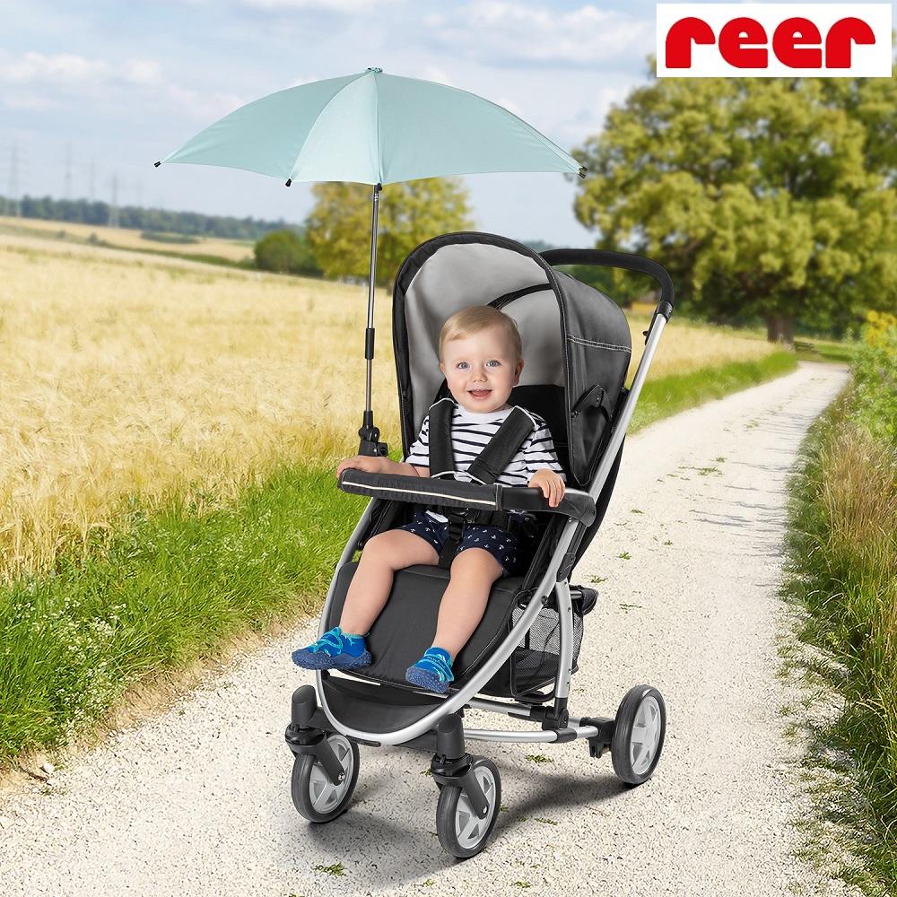Reer barnvagnsparasoll - ShineSafe mint