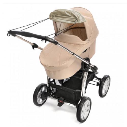 Solskydd barnvagn Reer Beige