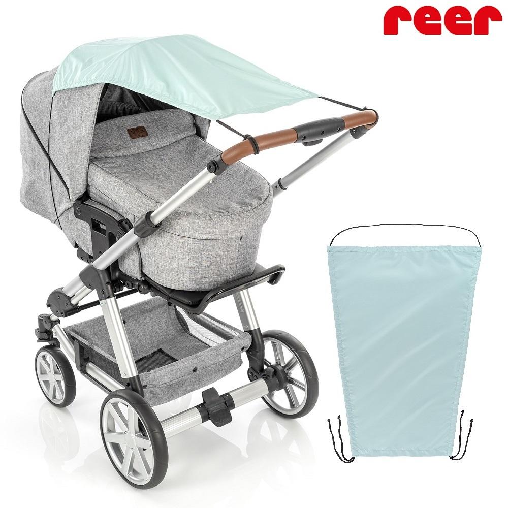 Reer barnvagnsgardin ShineSafe - Mint