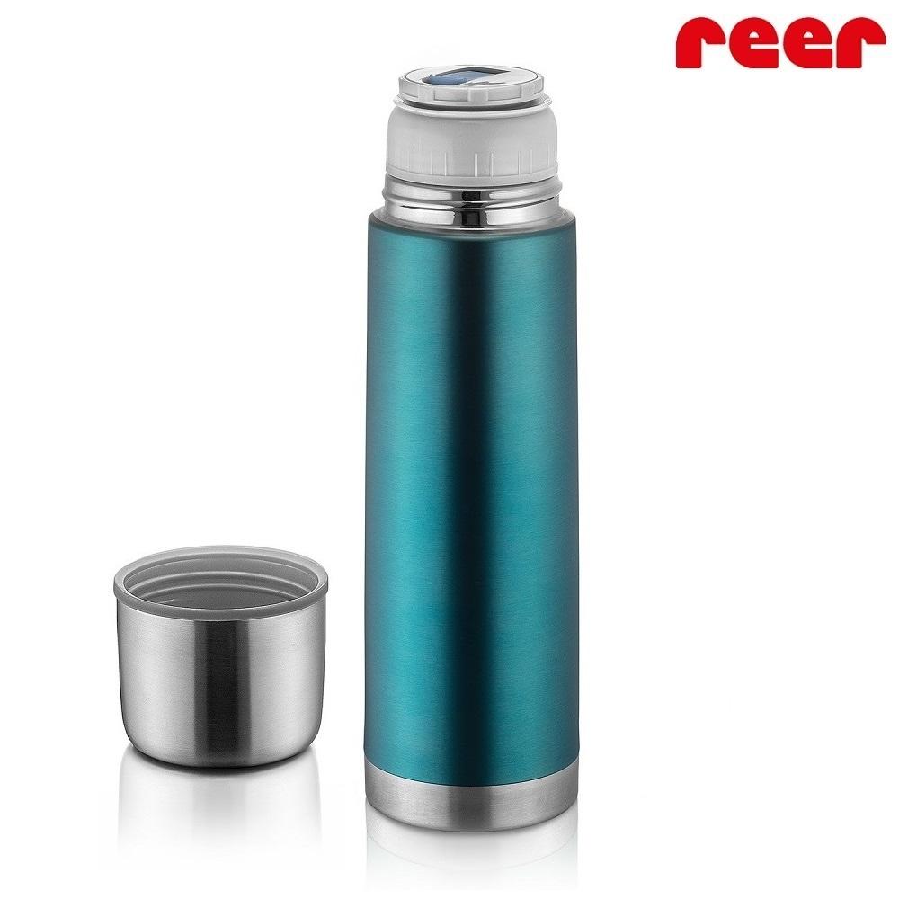 Liten termos Reer Colour Stainless blå och rostfri 500 ml