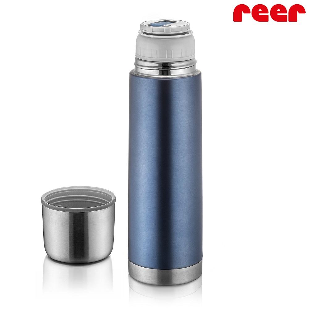 Liten termos Reer Colour Stainless grå och rostfri 500 ml