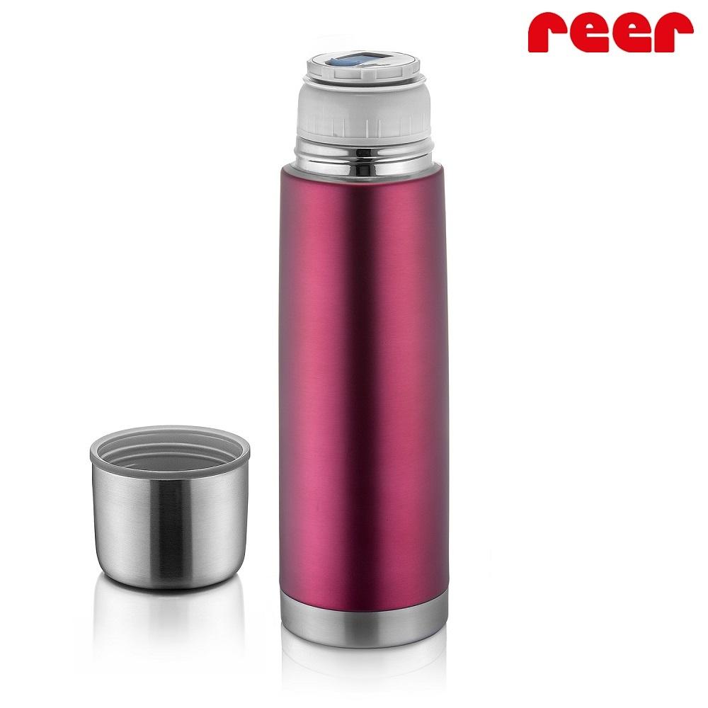 Liten termos Reer Colour Stainless röd och rostfri 500 ml