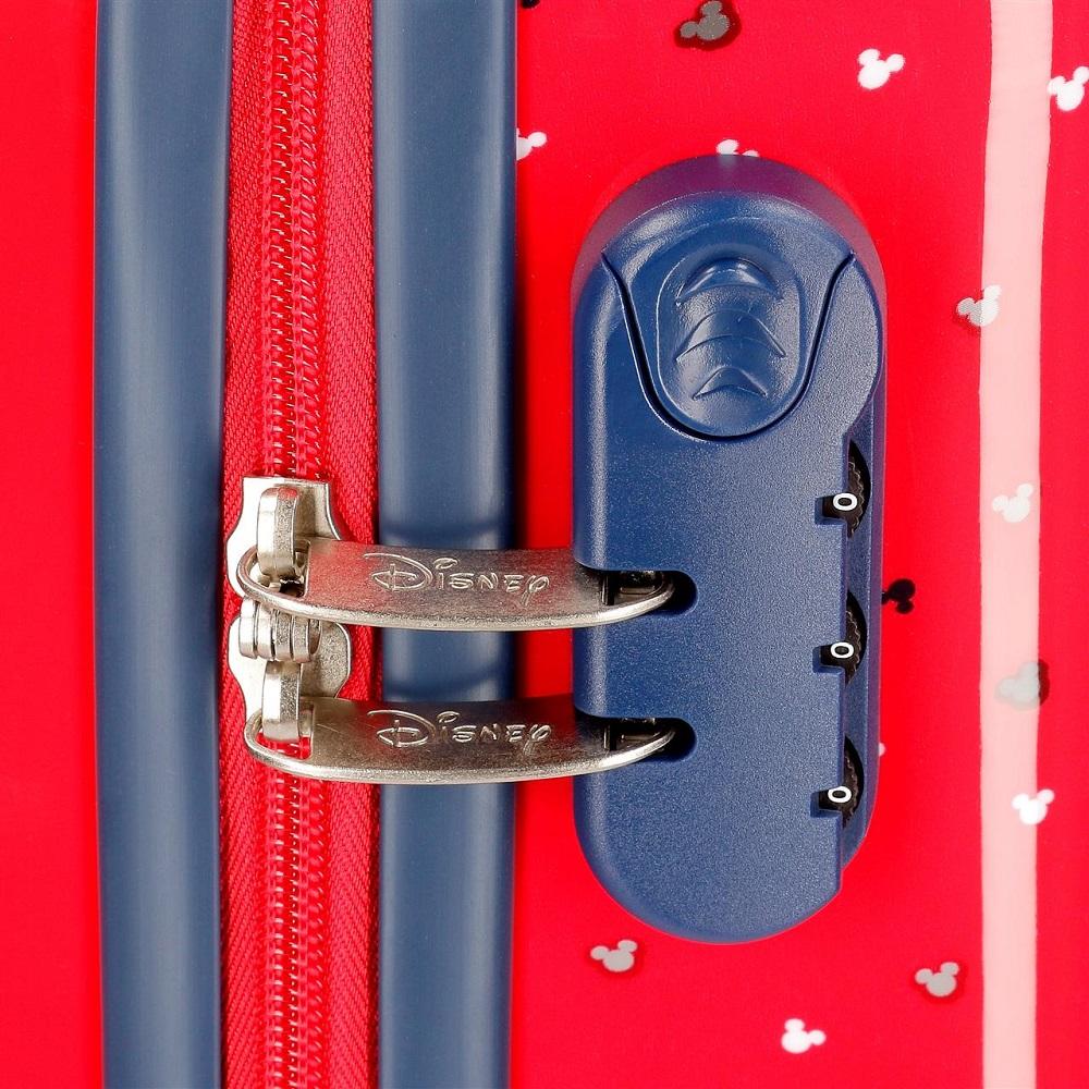 Resväska barn Joumma Bags Musse Pigg Röd ABS