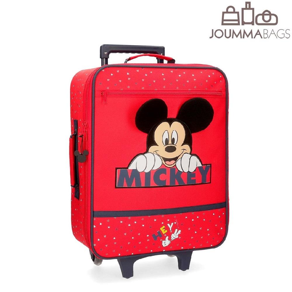 Resväska barn Musse Pigg röd