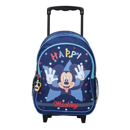 Resväska barn Musse Pigg Happiness blå