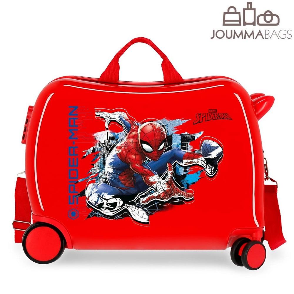 Spiderman resväska att åka på - Marvel
