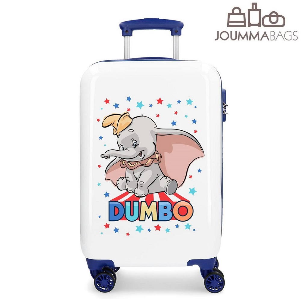 Resväska barn Dumbo vit