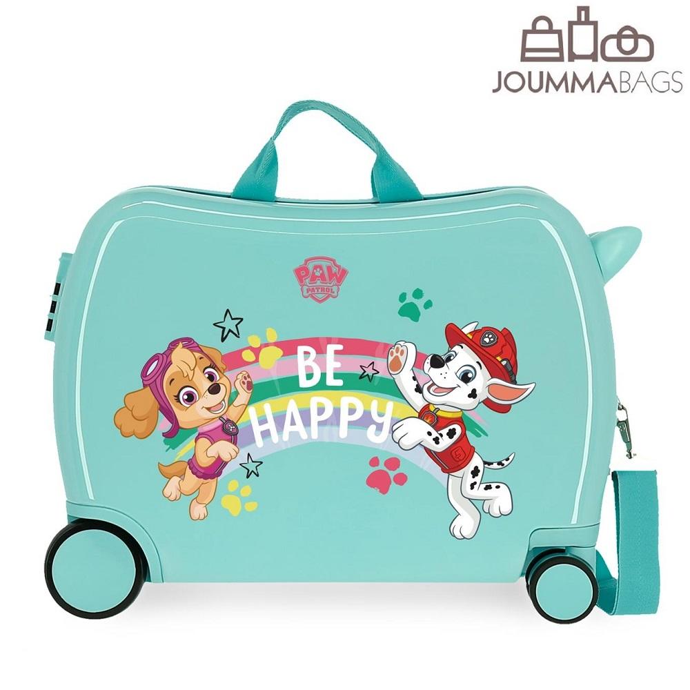 Paw Patrol resväska att åka på - Be Happy!