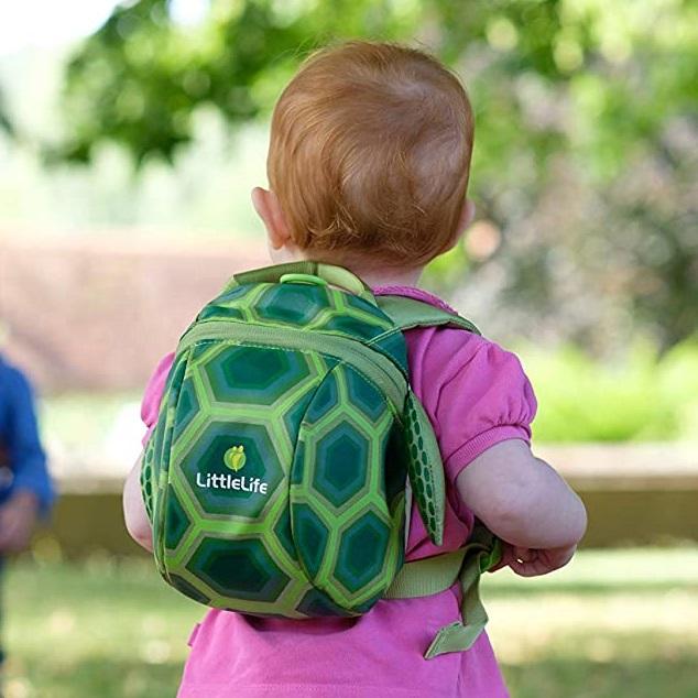 Ryggsäck barn LittleLife Toddler sköldpadda