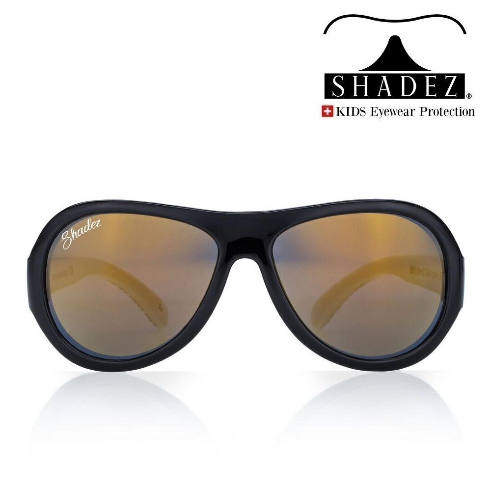 Shadez solglasögon barn - Love Black