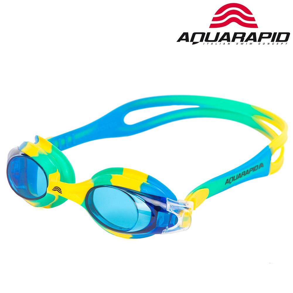 Simglasögon för Barn Aquarapid Multi Blå och gröna