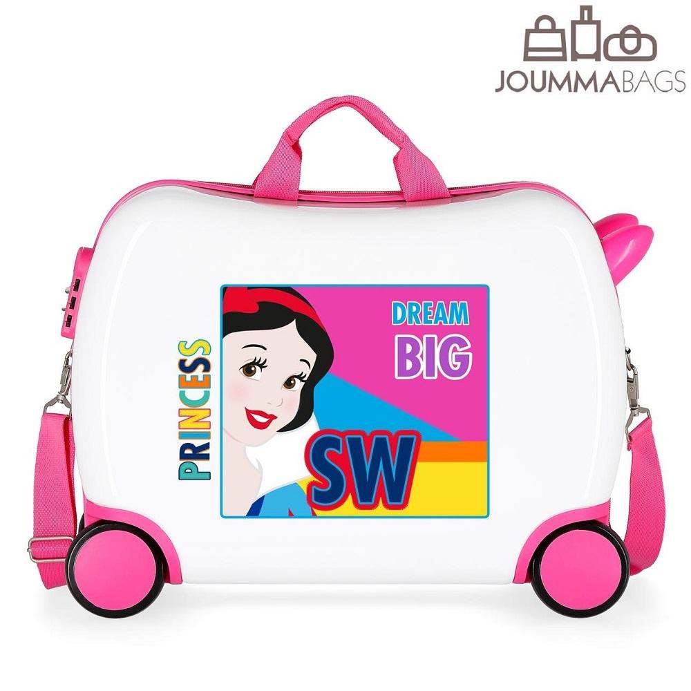 Resväska för barn att åka på Snövit