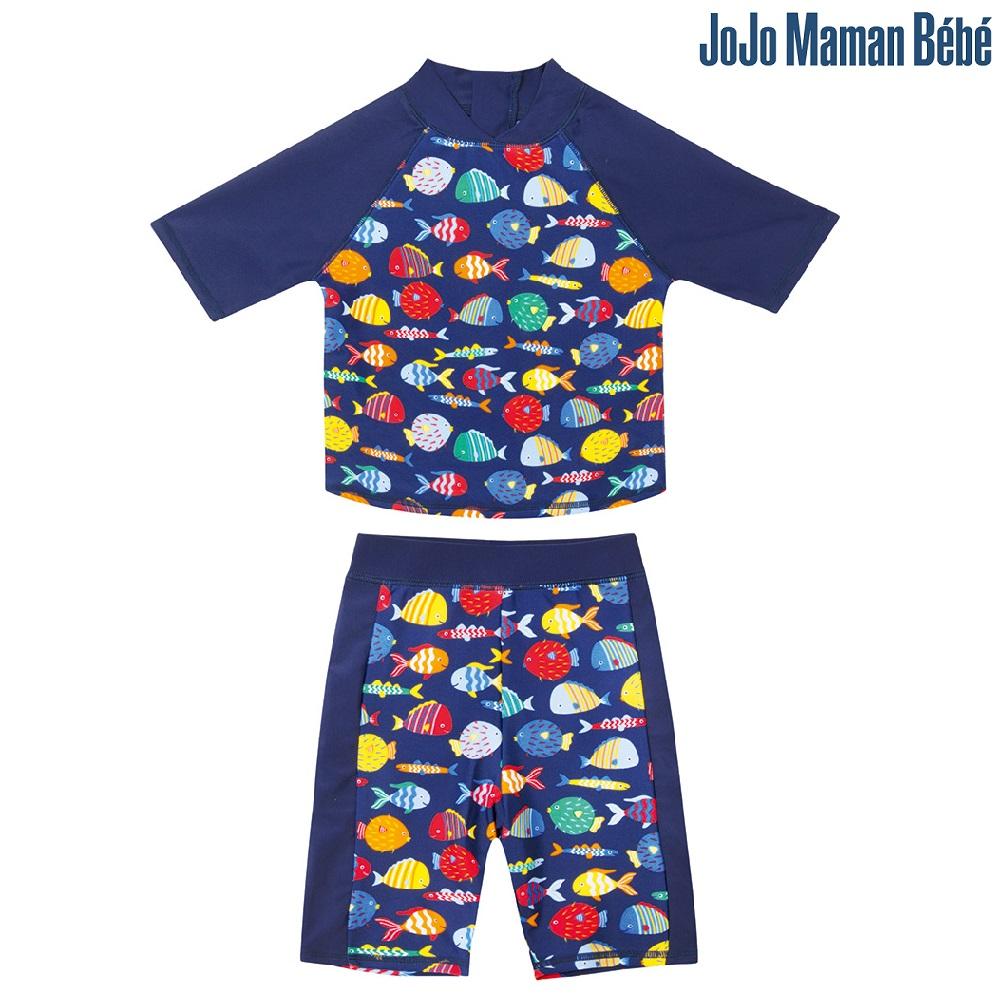UV-tröja och UV-byxor Jojo Maman Bebe Fish