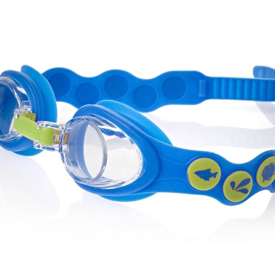 Simglasögon barn Speedo Sea Squad Blå