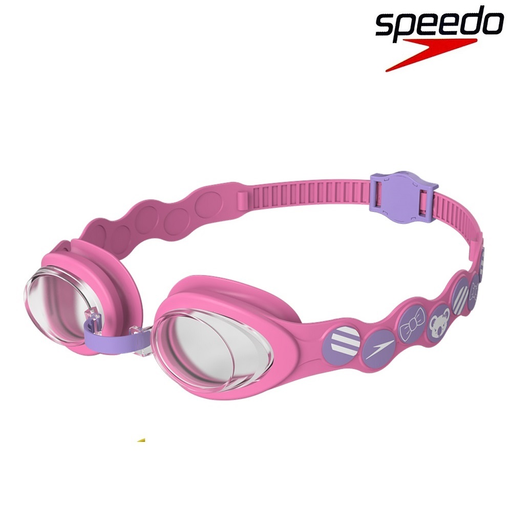 Simglasögon barn Speedo Sea Squad rosa