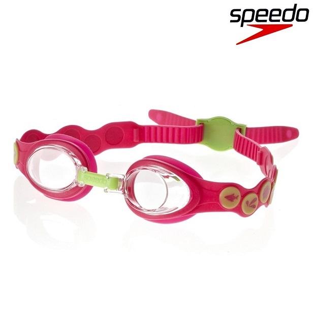 Simglasögon barn Speedo Sea Squad rosa