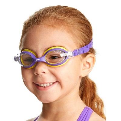 Simglasögon barn Speedo Skoogle Lila