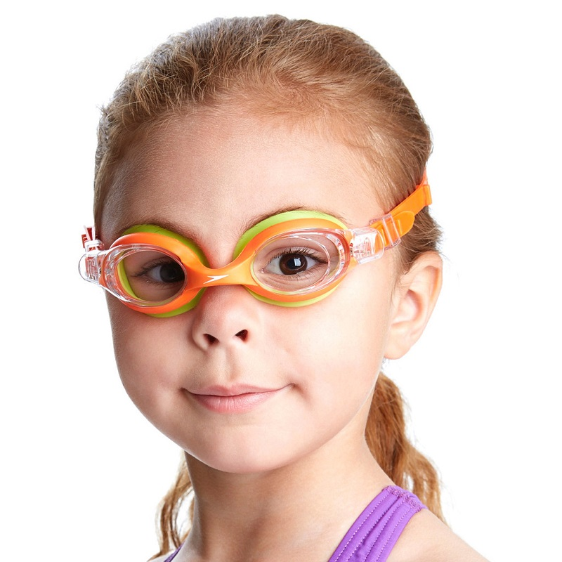Simglasögon barn Speedo Skoogle Orange