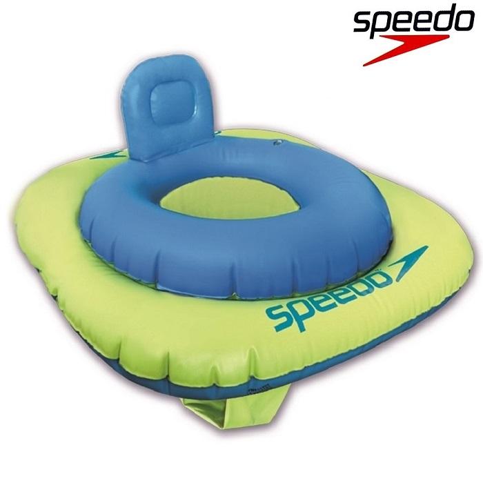 Badstol Speedo Blå 1-2 år grön och blå