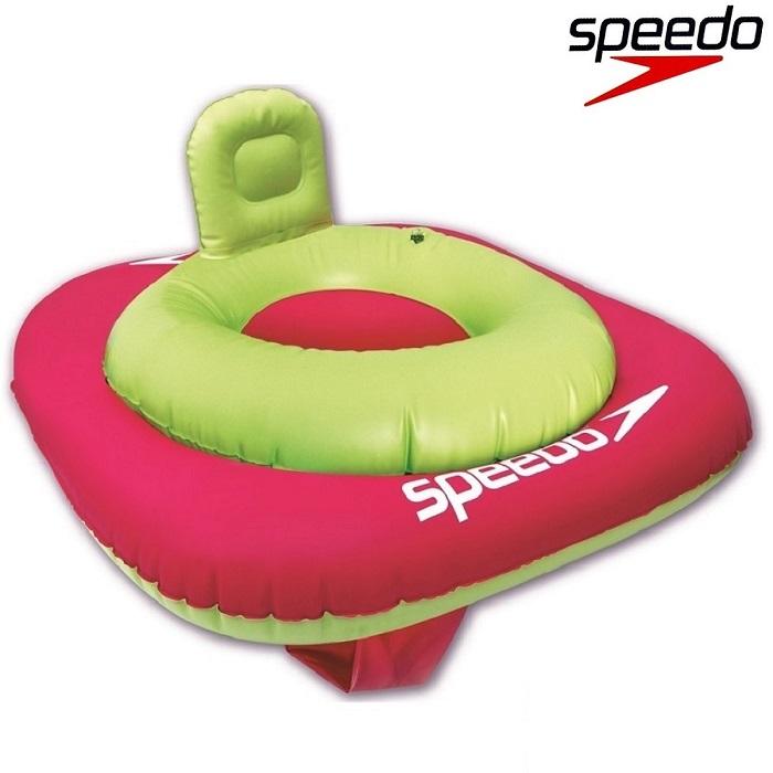 Badstol Speedo Blå 0-1 år grön och rosa