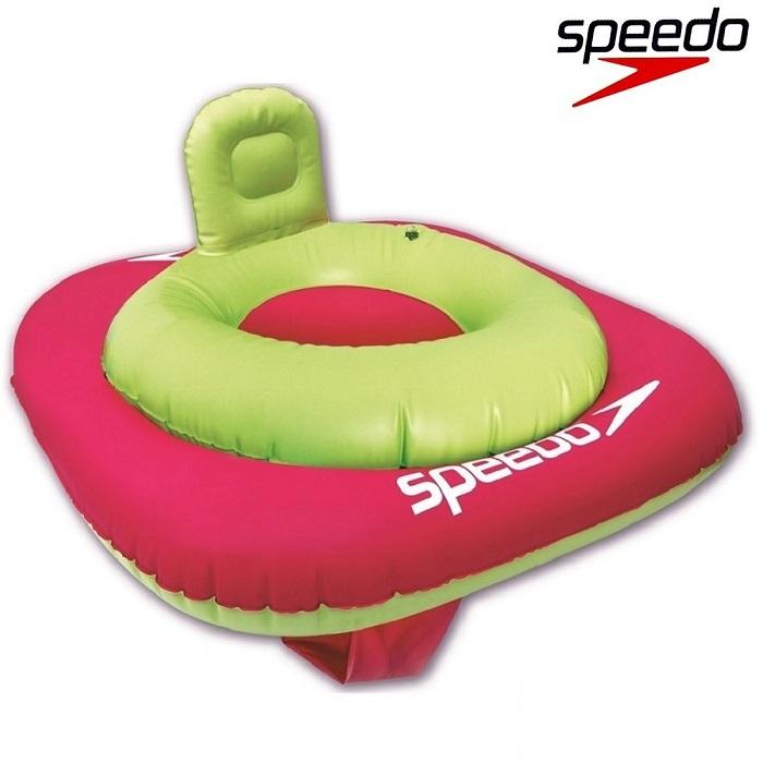Badstol Speedo Blå 1-2 år grön och rosa